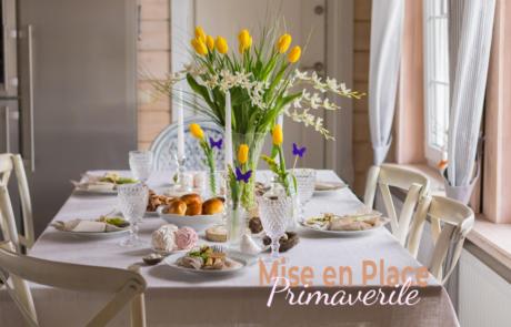 Mise en place: qualche consiglio per portare la primavera in tavola